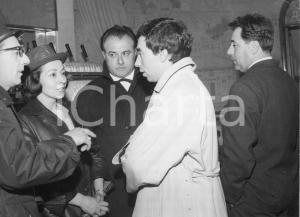 1962 GENOVA Teatro Margherita - Umberto BINDI e Febo CONTI a una serata - Foto