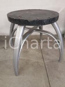 1970 VINTAGE Base tavolo con piano d'appoggio tondo