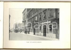 1918 FIUME (ISTRIA / CROAZIA) Album ILLUSTRATO - Turismo VINTAGE 23 pp. RARO