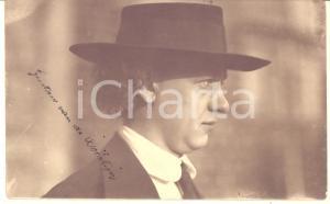 1920 ca BELGIUM Gustave VAN DE WOESTIJNE painter - Real photo with AUTOGRAPH