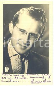 1946 BELGIQUE Musicista Roger ROSE' - AUTOGRAFO su foto seriale 9x14 cm