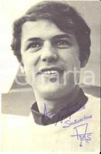 1967 BELGIO Cantante Salvatore ADAMO - AUTOGRAFO su foto seriale EMI 9x14 cm