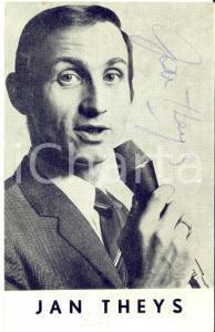 1967 Cantante Jan THEYS - AUTOGRAFO su foto seriale pubblicitaria 10x15 cm
