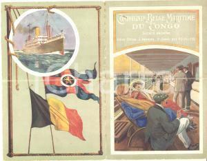 1913 ANVERS Cie Belge Maritime du CONGO - Vapeur ALBERTVILLE - Liste passagers