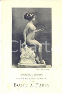 1910 PARIS PIGALLE La Boîte à Fursy - Blanche DORFEUIL *PUBLICITAIRE naked woman