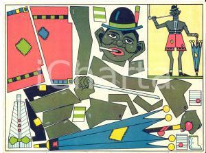 1950 ca Margarine ERA aux fruits d'Orient - Carte publicitaire 20x15 cm VINTAGE