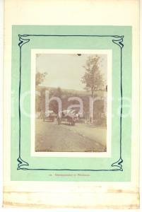 1910 ca LA GLEIZE (BELGIO) Bois de Werimont - Trasporto su carri bestiame - Foto