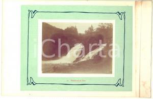 1910 ca COO (BELGIO) Veduta delle cascate - Foto VINTAGE 23x15 cm