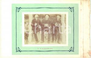 1910 ca COO (BELGIO) Escursionisti al Belvedere JEAN - Fotografia VINTAGE 23x15