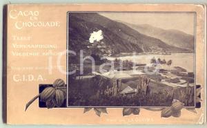 1910 ca CACAO EN CHOCOLADE Teelt Vervaardigind Voedende Kracht - C.I.D.A. *31 p.