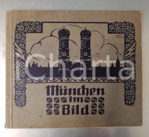 1910 MUNCHEN IM BILD - Album 48 Ansichten - RARE vintage book b/w