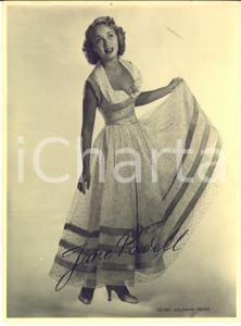 1950 ca Actress Jane POWELL - Vintage photo Metro-Goldwyn-Mayer 18x24 cm