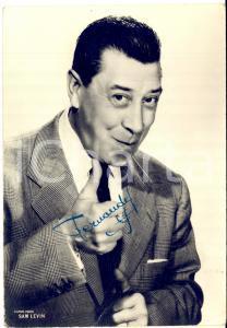 1960 ca CINEMA - FERNANDEL - Foto seriale con AUTOGRAFO - Foto 10x15 cm