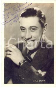 1940 ca CINEMA - FERNANDEL - Foto seriale con AUTOGRAFO - Foto 9x14 cm