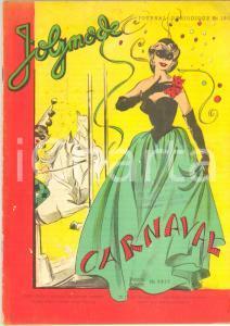 1960 ca JOLYMODE Modèles pour le CARNAVAL - Journal périodique n° 180 ILLUSTRE'