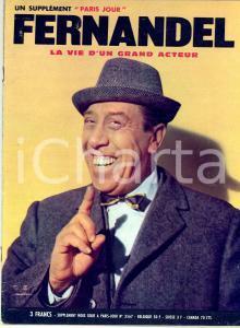 1971 FERNANDEL La vie d'un grand acteur - Supplement