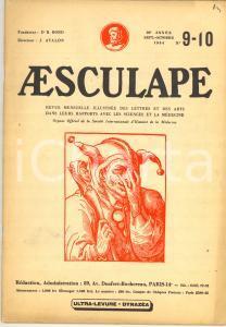 1954 AESCULAPE L'imposture Pierre-Paul Rubens - Revue illustrée n° 9-10