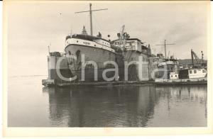 1970 BOMA CONGO Drague MATEBA au carénage dans le dock flottant (3) Photo 18x11