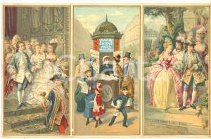 1900 ca PARIS Veloutine Charles FAY Poudre de riz - VINTAGE Advertisement 25x16