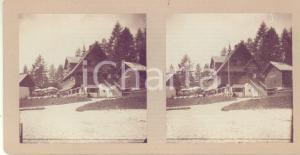 1913 VIGILJOCH / MONTE SAN VIGILIO Ristorante REMBRANDT - Foto stereoscopica