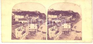 1890 ca COSTIERA AMALFITANA - VIETRI SUL MARE - Marina *Foto stereoscopica