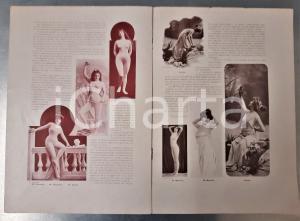 1900 LA RAMPE Le Carnet du Diable - Revue THEATRES nude body stocking n° 29
