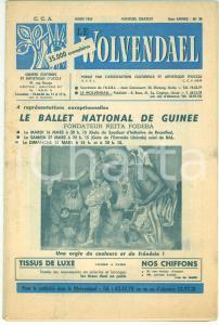 1965 LE WOLVENDAEL - UCCLE (BELGIQUE) - Ballet National de Guinée - Revue n° 79