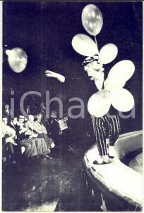 1959 BRUXELLES Le Cirque de Moscou - Libretto pubblicitario ILLUSTRATO b/n