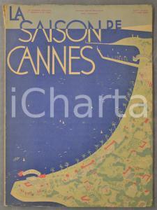 1929 LA SAISON DE CANNES Sport, fêtes, galas, demeures *Numéro spécial RARE