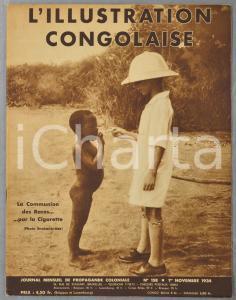 1934 L'ILLUSTRATION CONGOLAISE Coiffures - Gens d'Uélé - Katanga minier