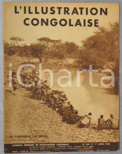 1935 L'ILLUSTRATION CONGOLAISE Cérémonie en mémoire du roi Albert au Katanga
