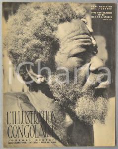 1938 L'ILLUSTRATION CONGOLAISE Commémoration campagnes Arabe, Madhiste, Batelela
