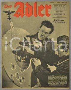 1944 WW2 DER ADLER Diables verts CASSINO - Combat aux limites de la stratosphère