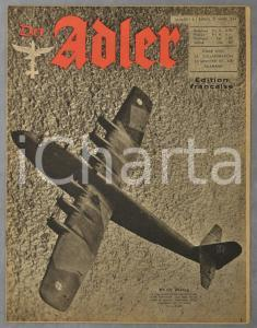 1944 WW2 DER ADLER Guerre à Monte Cassino - Navigation intérieure allemande