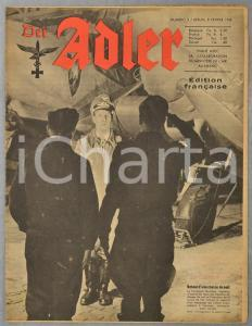 1944 WW2 DER ADLER Jeunesse hitlerienne au ski - Film