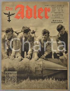 1943 WW2 DER ADLER Aviation à Crète - Wilhelm Filchner -