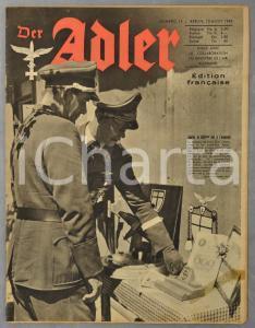 1943 WW2 DER ADLER Chasse de nuit sur le front Est - Bombardement Cologne