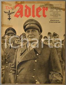 1943 WW2 DER ADLER Division Hermann Göring - Trains PC mobiles -