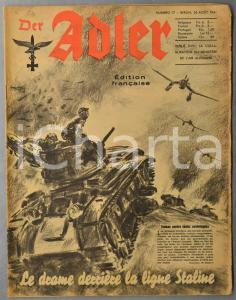 1941 WW2 DER ADLER Canot pneumatique et aviation - Femmes et usines d'armements