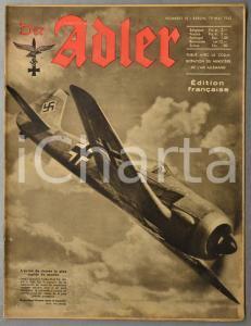 1942 WW2 DER ADLER Avion FOCKE-WULF FW 190 - Malte assiégée - Ballons de barrage