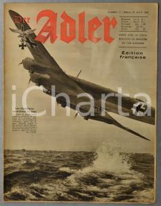 1942 WW2 DER ADLER Aviatrice Irina BURNAIA - Cirque SARRASANI pour les blessés