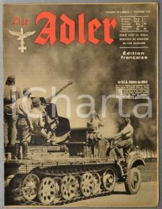 1942 WW2 DER ADLER Iran zone-tampon - Karl August de GABLENZ - Sport à Marbourg