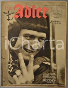 1942 WW2 DER ADLER Werner Mölders - Soldats sur l'Etna - Artisanat Vienne