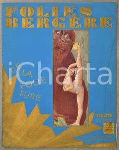 1929 FOLIES BERGERE Revue