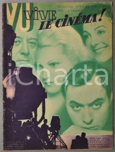 1934 VIVE LE CINEMA! Sex-appeal des vedettes - Numéro spécial NOEL ILLUSTRE'