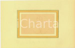 1930 ca EROTICA VINTAGE Nudo di donna sdraiata *Disegno matita 28x18 cm