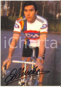 1978 CICLISMO Eddy MERCKX - Foto seriale con AUTOGRAFO 10x15 cm