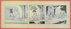 1950 ca DUTCH COMIC by A. REUVERS Original comic strip n.64 - ORIGINAL ART