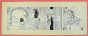 1950 ca DUTCH COMIC by A. REUVERS Original comic strip n.39 - ORIGINAL ART