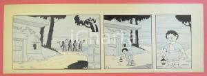 1950 ca DUTCH COMIC by A. REUVERS Original comic strip n.14 - ORIGINAL ART